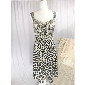 Ann Taylor Silk Polka Dot Dress